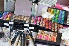 Palette de maquillage Photos stock