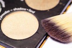 Palette de maquillage Photographie stock