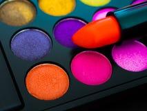 Palette de maquillage Images libres de droits