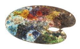 Palette de peintre Images libres de droits