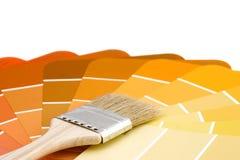 Palette de peintres d'automne Image stock