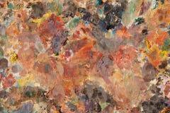 Palette de peinture à l'huile Photo libre de droits
