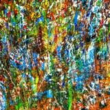 Palette de peinture à l'huile d'artistes Images libres de droits