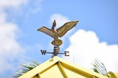 Palette de vent sous forme de canard photo libre de droits