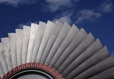 Palette della turbina fotografie stock