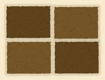 Palette der Natur im Sepia Lizenzfreies Stockfoto