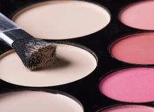 Palette des ombres d'oeil colorées Photos libres de droits
