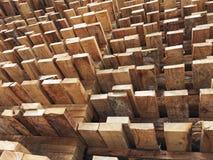 Palette en bois Photo libre de droits