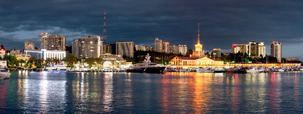 Palette of evening Sochi Royalty Free Stock Photos