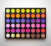 Palette eye shadows Royalty Free Stock Images