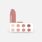 Palette of foundation . retro. Palette of foundation vector retro Stock Image