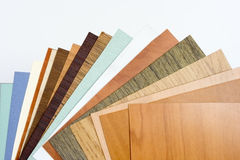 Palette furniture textures. Laminated plastic Royalty Free Stock Photography