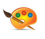 Palette icon Stock Image