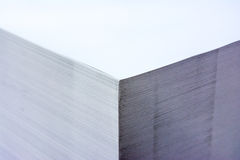 Palette industrielle contrastée Storag de format de pile de papier grande photo libre de droits