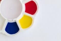 Palette, Kunst der Farbe Lizenzfreies Stockbild