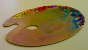 Palette-lit Image stock