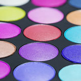 Palette macro Royalty Free Stock Photography