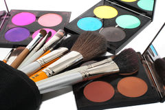 Palette for make-up Stock Images