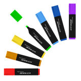 Palette markers Royalty Free Stock Photography