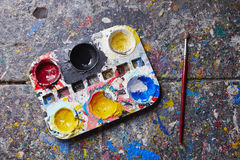 Palette Royalty Free Stock Photography