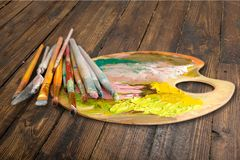 Palette Stock Photography