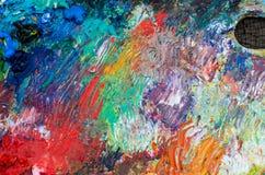 Palette pour la peinture Photo libre de droits