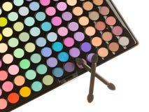 Palette professionnelle de maquillage Images libres de droits