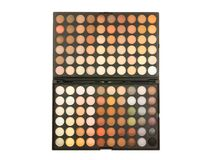 Palette professionnelle de maquillage Photo stock