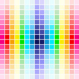 Palette rainbow colors Royalty Free Stock Photography