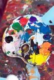 palette s d'artiste Photo stock