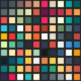 Palette seamless pattern Royalty Free Stock Photo