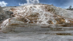 Palette spring, Yellowstone Royalty Free Stock Photography