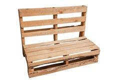 Paletten-Stuhl Lizenzfreie Stockbilder