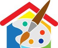 Palettes à la maison illustration stock
