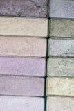 Palettes colorées de fard à paupières de renivellement Image libre de droits