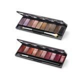 Palettes cosmétiques Images stock
