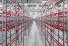 Palettes industrielles de supports Image stock