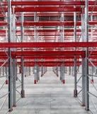 Palettes industrielles de supports Photographie stock