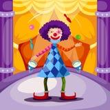 Palhaço ilustração royalty free