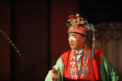 Palhaço da ópera de China Foto de Stock Royalty Free