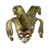 Palhaço da máscara de Veneza Foto de Stock Royalty Free