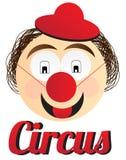 Palhaço de circo Fotografia de Stock
