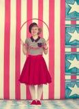 Palhaço de circo Foto de Stock