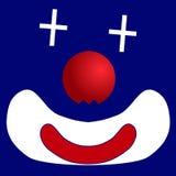 Palhaço do ícone Fotografia de Stock