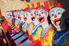 Palhaços coloridos foto de stock