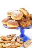 Palha da filhós e da pastelaria Fotografia de Stock