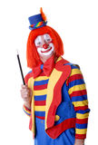 Palhaço de circo Imagem de Stock Royalty Free