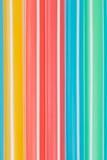 Palhas bebendo coloridas Imagens de Stock Royalty Free