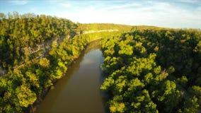 Paliçadas do rio de Kentucky video estoque