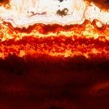 Palić płomienie, gorące law warstwy Obrazy Stock